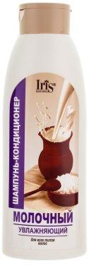Млечен шампоан-балсам за коса - Iris Cosmetic — снимка N1