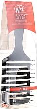 Парфюмерия и Козметика Четка за коса, черна - Wet Brush Flex Dry Paddle