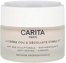 Парфюми, Парфюмерия, козметика Крем за шия и деколте - Carita La Creme Cou Et Decollete Stimulift