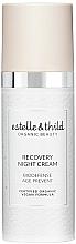 Парфюмерия и Козметика Възстановяващ нощен крем за лице - Estelle & Thild BioDefense Instant Recovery Night Cream