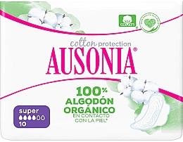 Парфюмерия и Козметика Дамски превръзки, 10 бр. - Ausonia Cotton Protection