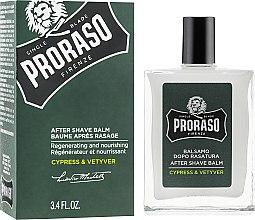 Парфюмерия и Козметика Балсам след бръснене - Proraso Cypress & Vetiver After Shave Balm