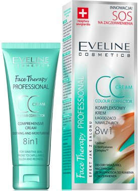 CC успокояващ крем за лице - Eveline Cosmetics Therapy