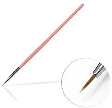 Парфюмерия и Козметика Четка за декорация на маникюр, 4 мм Pink - Silcare Brush 00