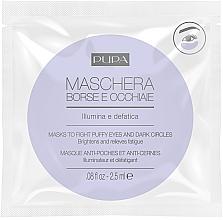 Парфюмерия и Козметика Околоочна маска срещу тъмни кръгове и подпухналост - Pupa Mask To Fight Puffy Eyes And Dark Circles