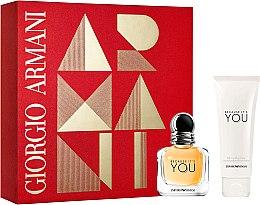 Парфюми, Парфюмерия, козметика Giorgio Armani Because It's You - Комплект (парф. вода/30ml + лосион за тяло/75ml)