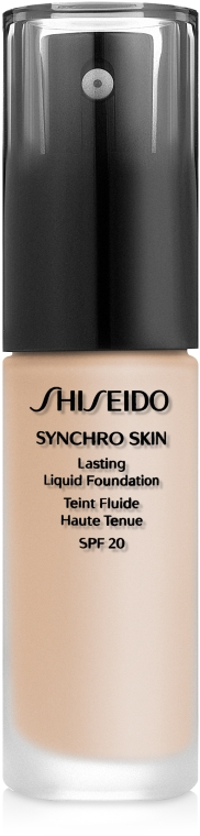 Фон дьо тен - Shiseido Synchro Skin Lasting Liquid Foundation — снимка N1