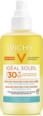 Слънцезащитен спрей - Vichy Ideal Soleil Solar Protective Hydrating Water SPF 30 — снимка N1