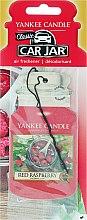 Парфюми, Парфюмерия, козметика Ароматизатор за кола - Yankee Candle Car Jar Red Raspberry