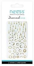 Парфюми, Парфюмерия, козметика Декориращи лепенки за нокти, 3714 - Neess Diamondneess