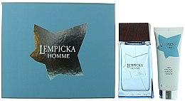 Парфюми, Парфюмерия, козметика Lolita Lempicka Homme - Комплект (тоал. вода/100ml + афтър./75ml)