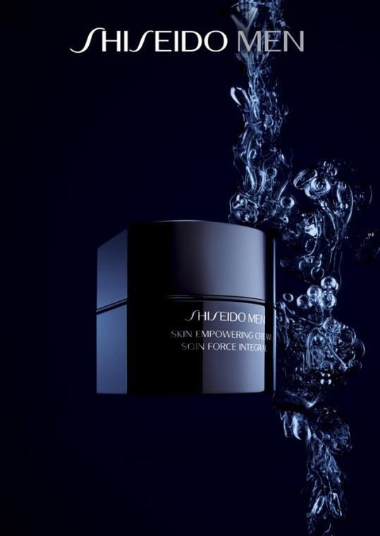 Възстановяващ крем за лице - Shiseido Men Skin Empowering Cream — снимка N7