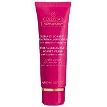 Парфюми, Парфюмерия, козметика Исветляващ и подхранващ крем за лице с малини - Collistar Energy+Brightness Sorbet Cream