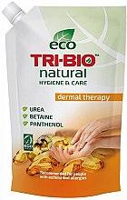 Парфюмерия и Козметика Натурален течен сапун - Tri-Bio Cream Wash Dermal Therapy (пълнител)