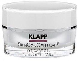 Парфюмерия и Козметика Околоочен гел - Klapp Skin Con Cellular Eye Gel