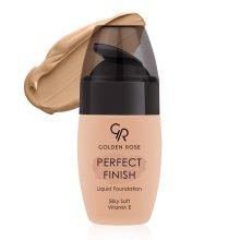 Парфюми, Парфюмерия, козметика Фон дьо тен - Golden Rose Perfect Finish Liquid Foundation