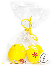 "Парфюми, Парфюмерия, козметика Комплект балсами ""Лимон"" - EOS Lip Balm Lemon Christmas Pack (balm/2x7g)"