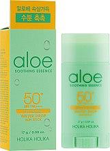 Парфюмерия и Козметика Слънцезащитен стик - Holika Holika Aloe Soothing Essence Water Drop Sun Stick SPF50+