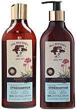 Парфюмерия и Козметика Комплект за коса - Mrs. Potter's Triple Root (шампоан/390ml + балсам/390ml)