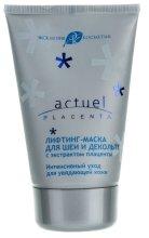 Парфюми, Парфюмерия, козметика Лифтинг маска за шия и деколте с екстракт от плацента - Ексклузивкозметик Actuel Placenta Mask