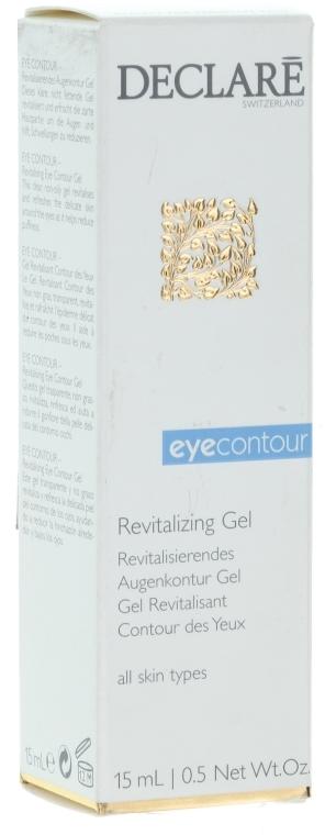 Възстановяващ гел за зоната около очите - Declare Revitalising Eye Contour Gel — снимка N1