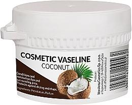Парфюмерия и Козметика Козметичен вазелин за лице и устни с аромат на кокос - Pasmedic Cosmetic Vaseline Coconut
