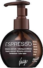 Парфюмерия и Козметика Балсам с цветен ефект - Vitality's Art Espresso
