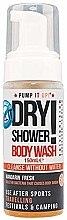 Парфюми, Парфюмерия, козметика Пяна за сухо почистване на тяло с аромат на мандарина - Pump It Up Dry Shower Body Wash Mandarin