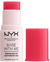 Парфюми, Парфюмерия, козметика Руж - NYX Professional Bare With Me Hydrating Cheek Tint
