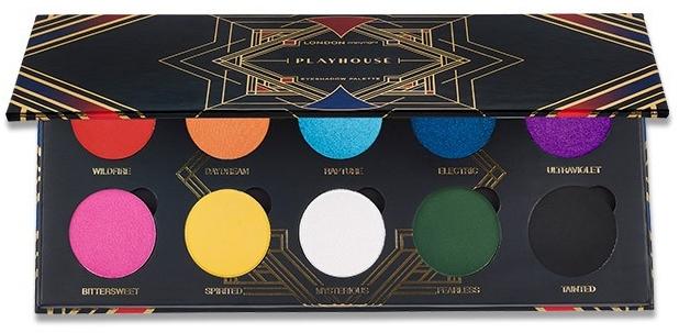 London Copyright Magnetic Eyeshadow Palette Playhouse - Палитра сенки за очи