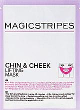 Парфюмерия и Козметика Маска с лифтинг ефект за брадичката и бузите - Magicstripes Chin & Cheek Lifting Mask