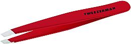 Парфюми, Парфюмерия, козметика Пинсета със скосен край, червена - Tweezerman Tweezer Red