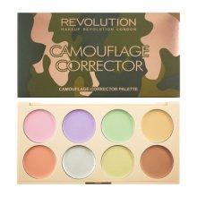 Парфюмерия и Козметика Палитра цветни коректори - Makeup Revolution Camouflage Corrector Palette