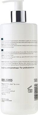 Хидрогел тоник с хиалуронова киселина - Apis Professional Smoothing Hydro Gel Toner With Hyaluronic Acid — снимка N2