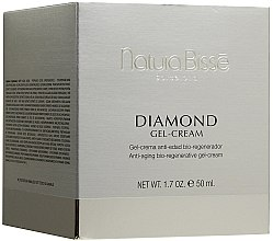 Парфюмерия и Козметика Био възстановяващ гел-крем против стареене - Natura Bisse Diamond Gel-Cream