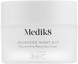 Парфюмерия и Козметика Нощен възстановяващ околоочен крем - Medik8 Advanced Night Eye