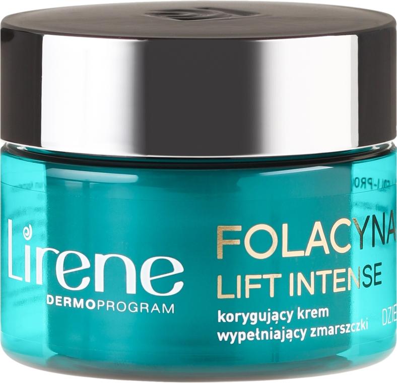 Дневен крем против бръчки - Lirene Folacyna Lift Intense..