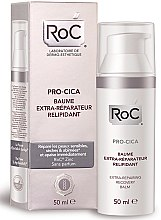 Парфюмерия и Козметика Възстановяващ балсам за лице за суха кожа - RoC Pro-Cica Extra-Repairing Recovery Balm