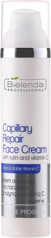 Крем с витамин С за кожа с купероза - Bielenda Professional Capilary Repair Face Cream