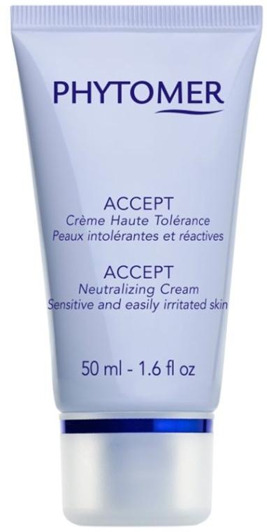Крем за чувствителна кожа - Phytomer Accept Neutralizing Cream — снимка N1