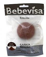 Парфюми, Парфюмерия, козметика Гъба за измиване с червена глина - Bebevisa Konjac Sponge
