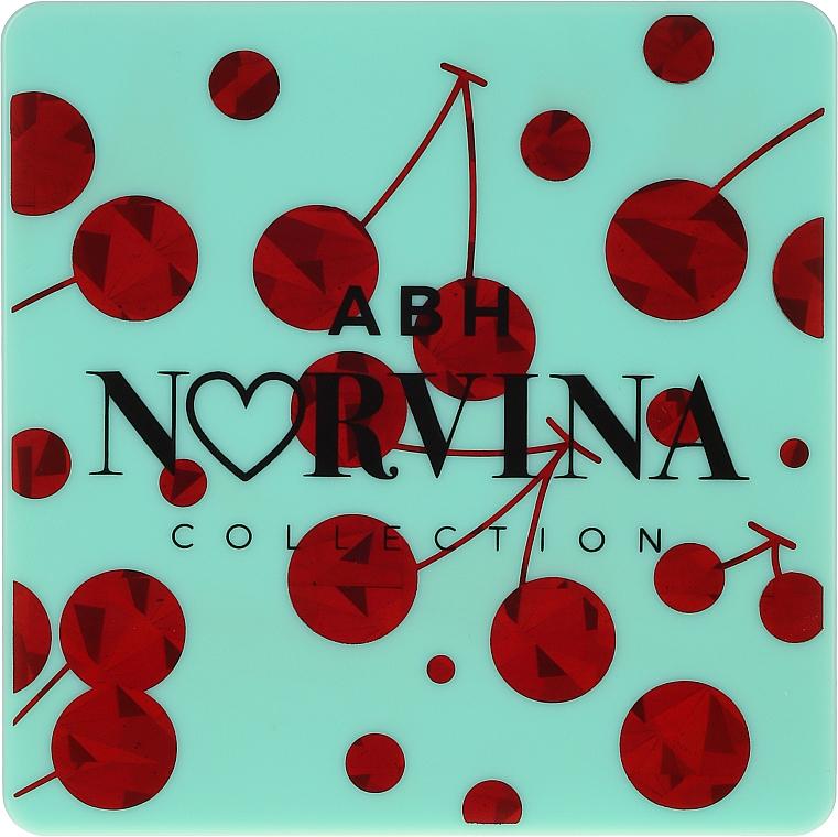Палитра сенки за очи - Anastasia Beverly Hills Norvina Pro Pigment Mini №3 — снимка N3