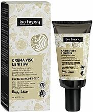Парфюмерия и Козметика Крем за лице с бяла лупина и керници с UV защита - Bio Happy Soothing Face Cream White Lupin And Mullberry