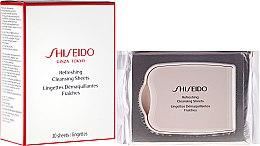 Парфюми, Парфюмерия, козметика Освежаващи почистващи кърпички - Shiseido Refreshing Cleansing Sheets