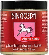 Парфюми, Парфюмерия, козметика Конски мехлем с алпийски билки - BingoSpa Ointment Horse With Alpine Herbs