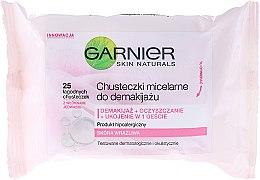 Парфюми, Парфюмерия, козметика Мицеларни почистващи кърпички за лице - Garnier Skin Naturals