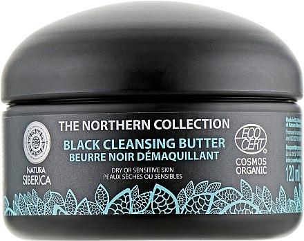 Почистващо масло за суха и чувствителна кожа - Natura Siberica The Northern Collection Black Cleansing Butter — снимка N2