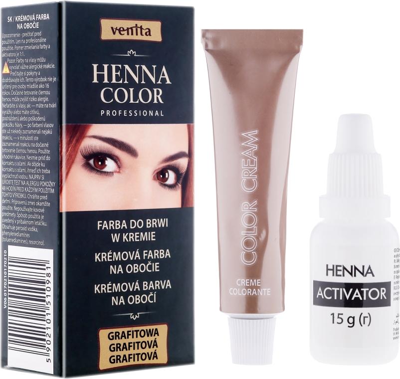 Боя-крем за вежди - Venita Henna Color