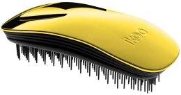 Парфюми, Парфюмерия, козметика Четка за коса - Ikoo Home Black Soleil Metallic