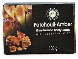Парфюмерия и Козметика Сапун с амбра - Song of India Soap Patchouli Amber